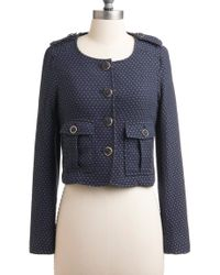 ModCloth Indoor Croquet Jacket