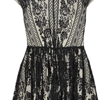 Lover Wiccan Lace Mini Dress