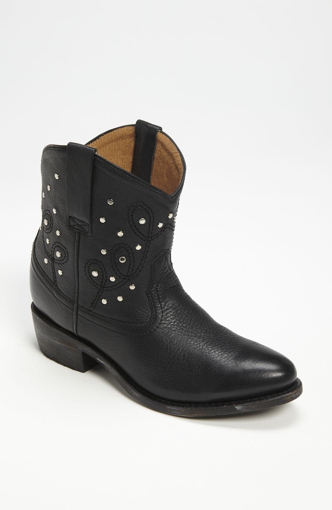 Miz Mooz Miz Mooz Cozumel Boot In Black Black Leather