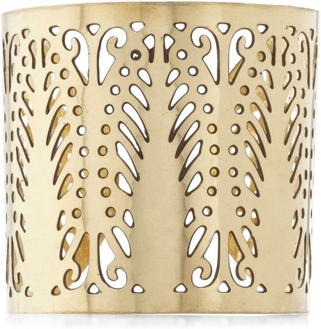 Modcloth See It Through Bracelet in Gold - Lyst