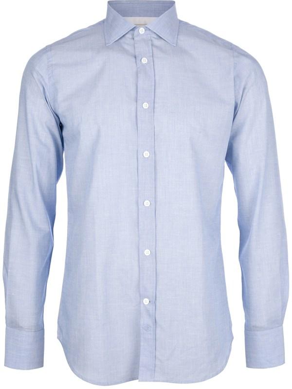 Lyst - Paul & Joe Buttoned Shirt in Blue for Men