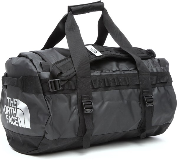 The North Face Base Camp Small Duffel Bag in Black for Men ...