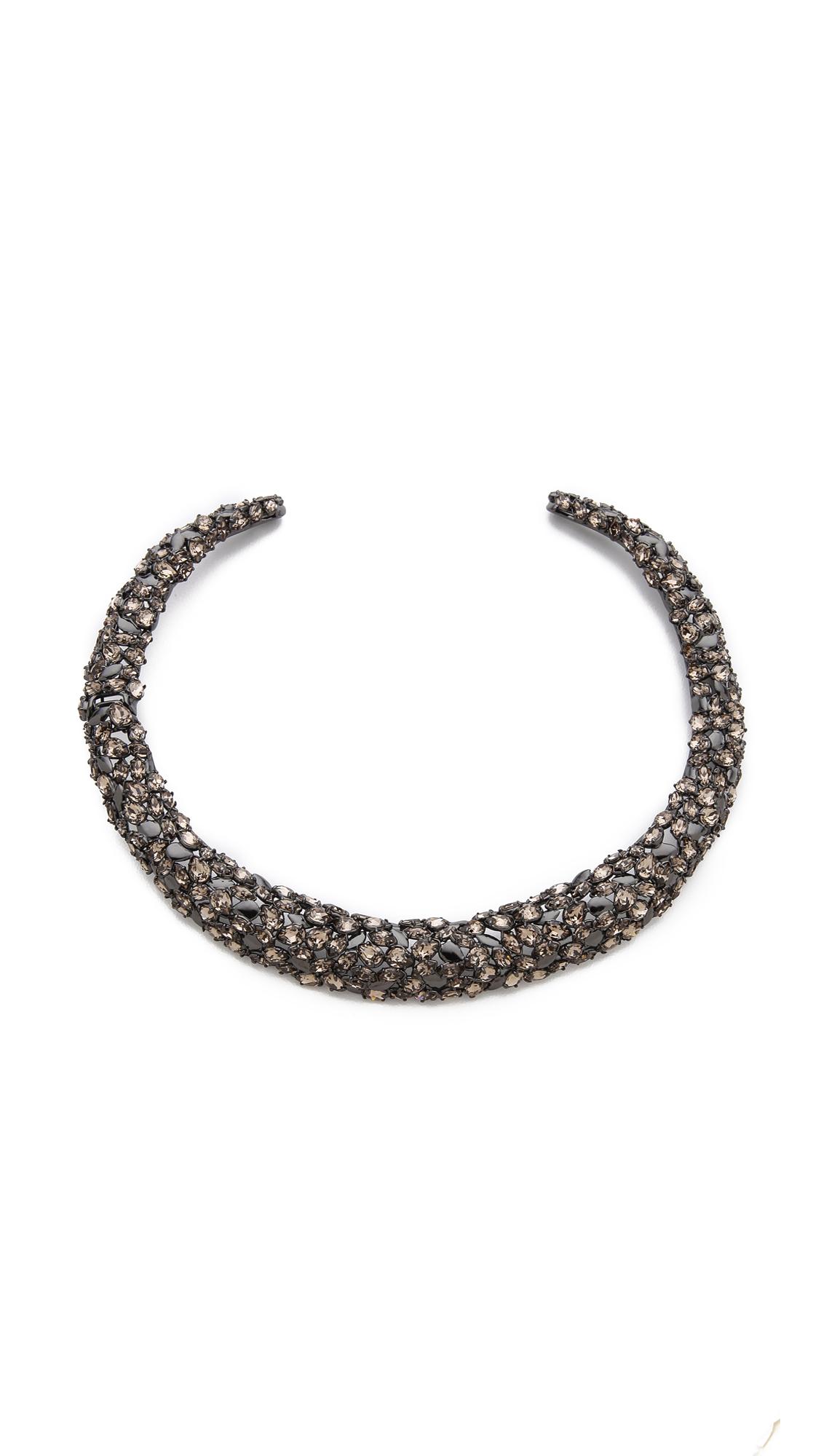 Alexis Bittar Hinged Nova Collar Necklace In Multicolor Multi