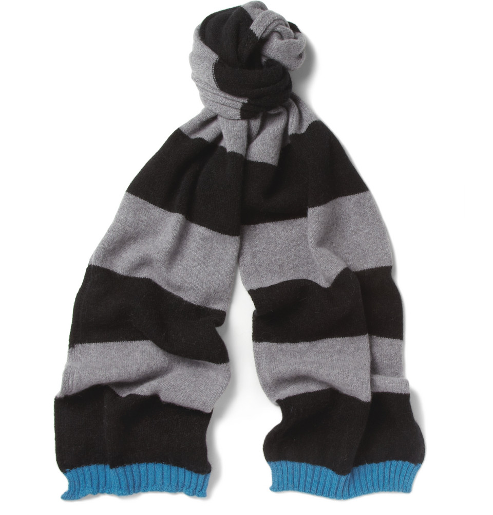 Paul Smith Simple Simon Wool And Angora Blend Hat And