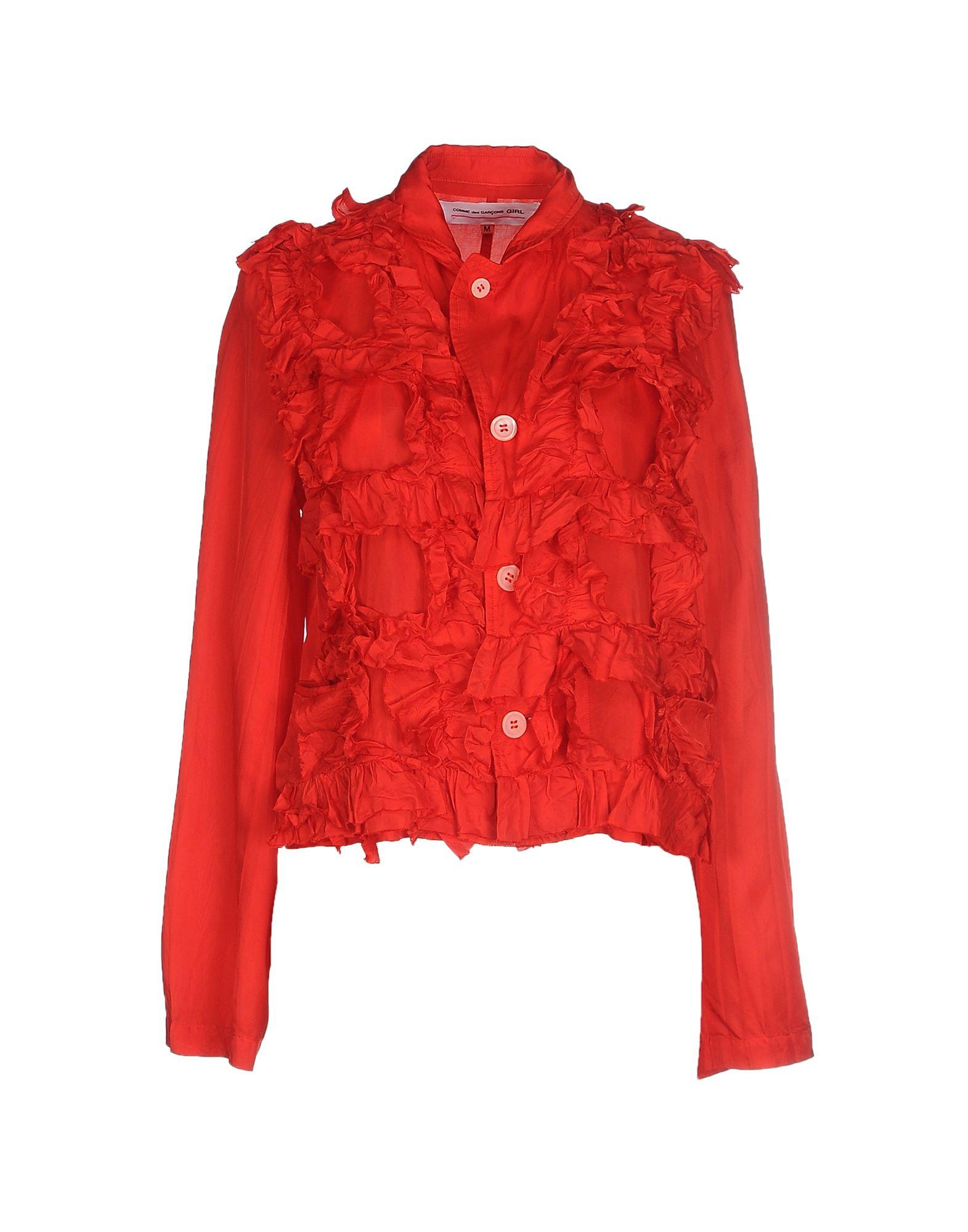 Lyst Comme Des Garons Blazer In Red