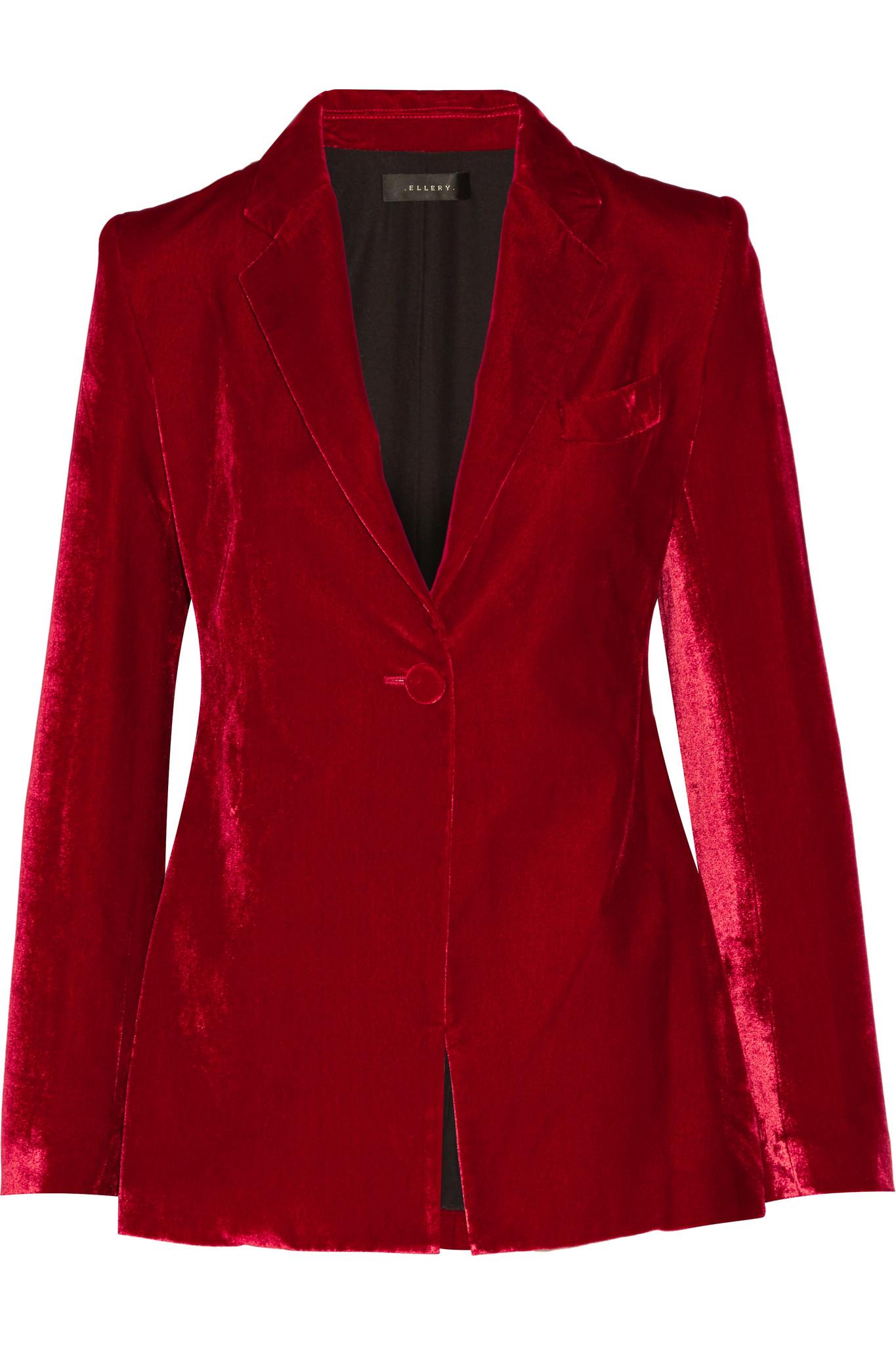 Red Womens Blazer Baggage Clothing