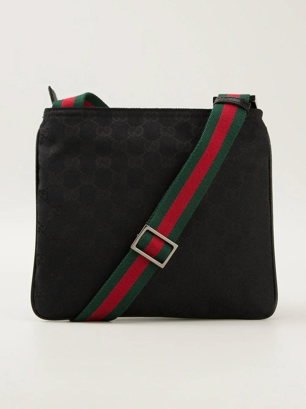 fb473c78a40 Gucci Monogram Crossbody Bag In Multicolor For Men Nude - EpicGaming