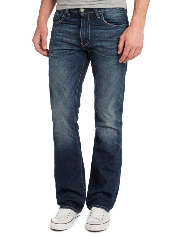 Levis Denim 527 Low Bootcut Jean 3034quot Inseam in Denim