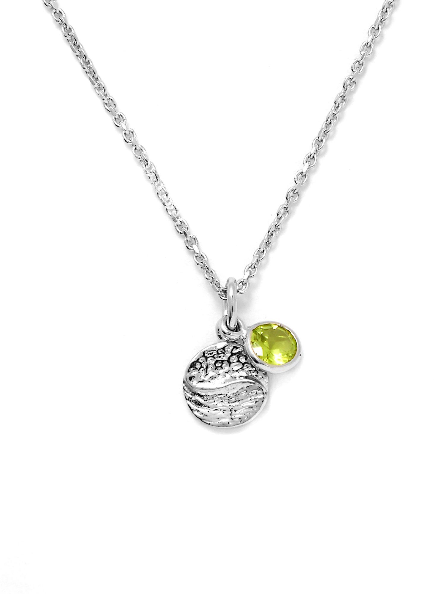 Gemporia Hunan Peridot Sterling Silver Necklace In