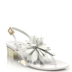 b0968463f Lyst Kate Spade New York Davina Jelly Sandals In White