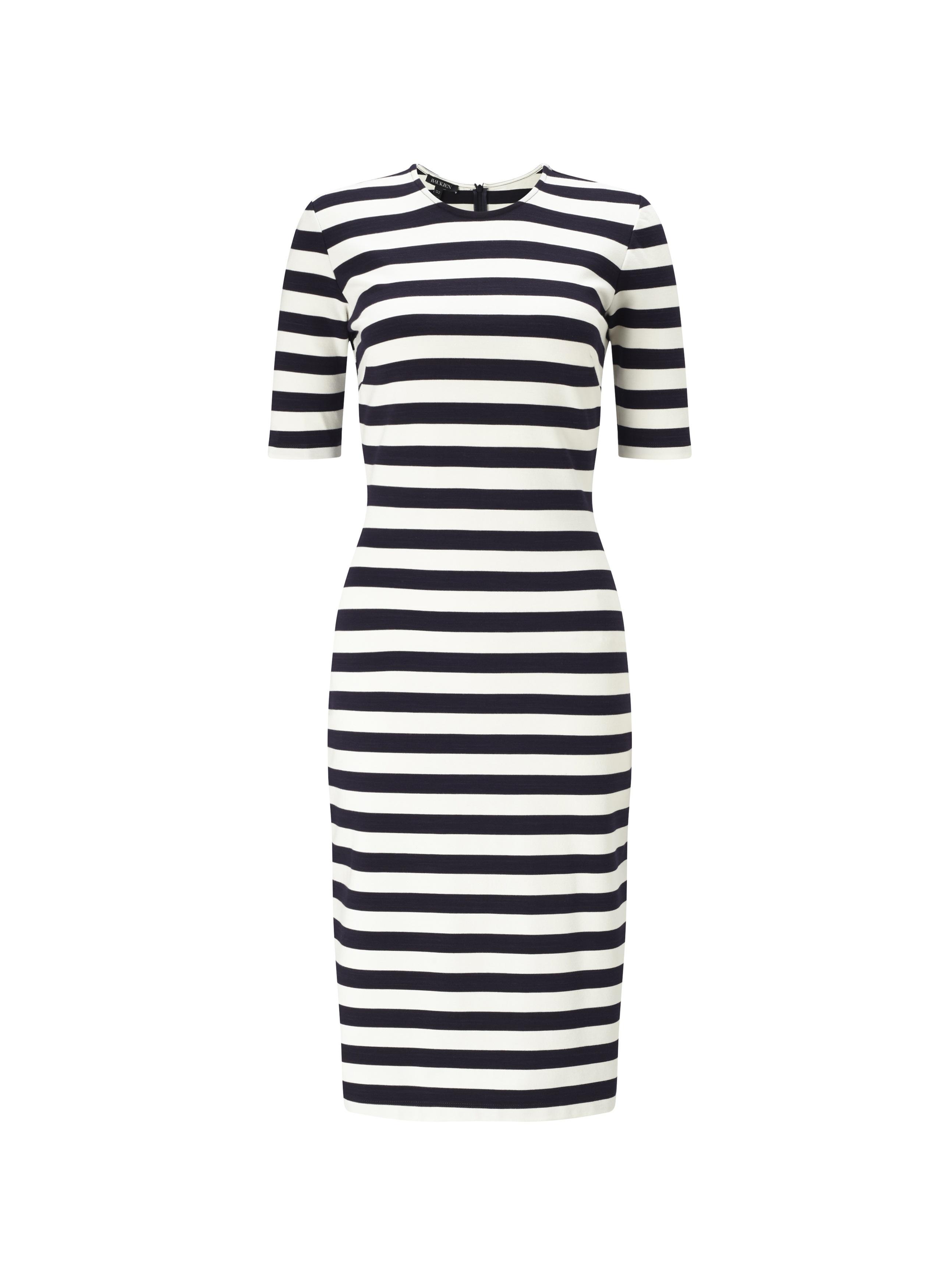 Baukjen Albourne Striped Dress In Blue