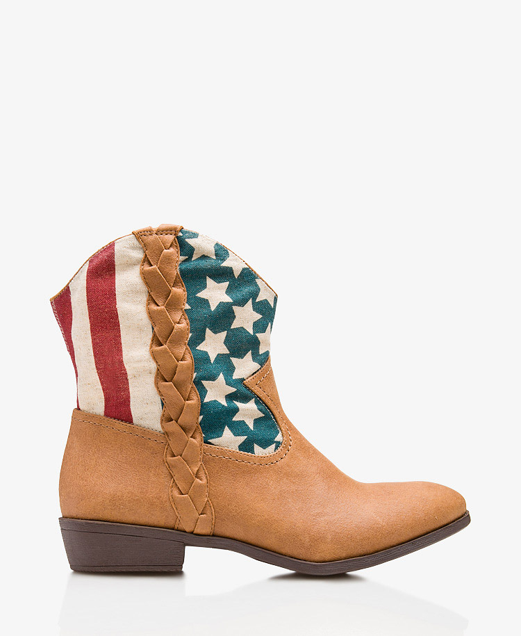 Forever 21 American Flag Boots