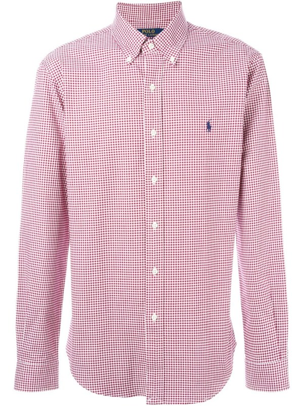 Lyst - Polo Ralph Lauren Gingham Check Shirt in Red for Men