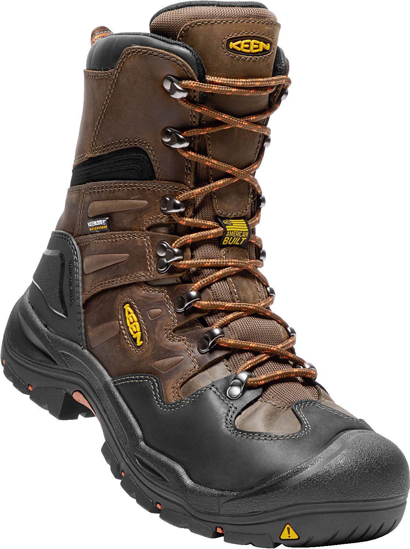 Keen Rubber Coburg 8 Waterproof Steel Toe Work Boots In