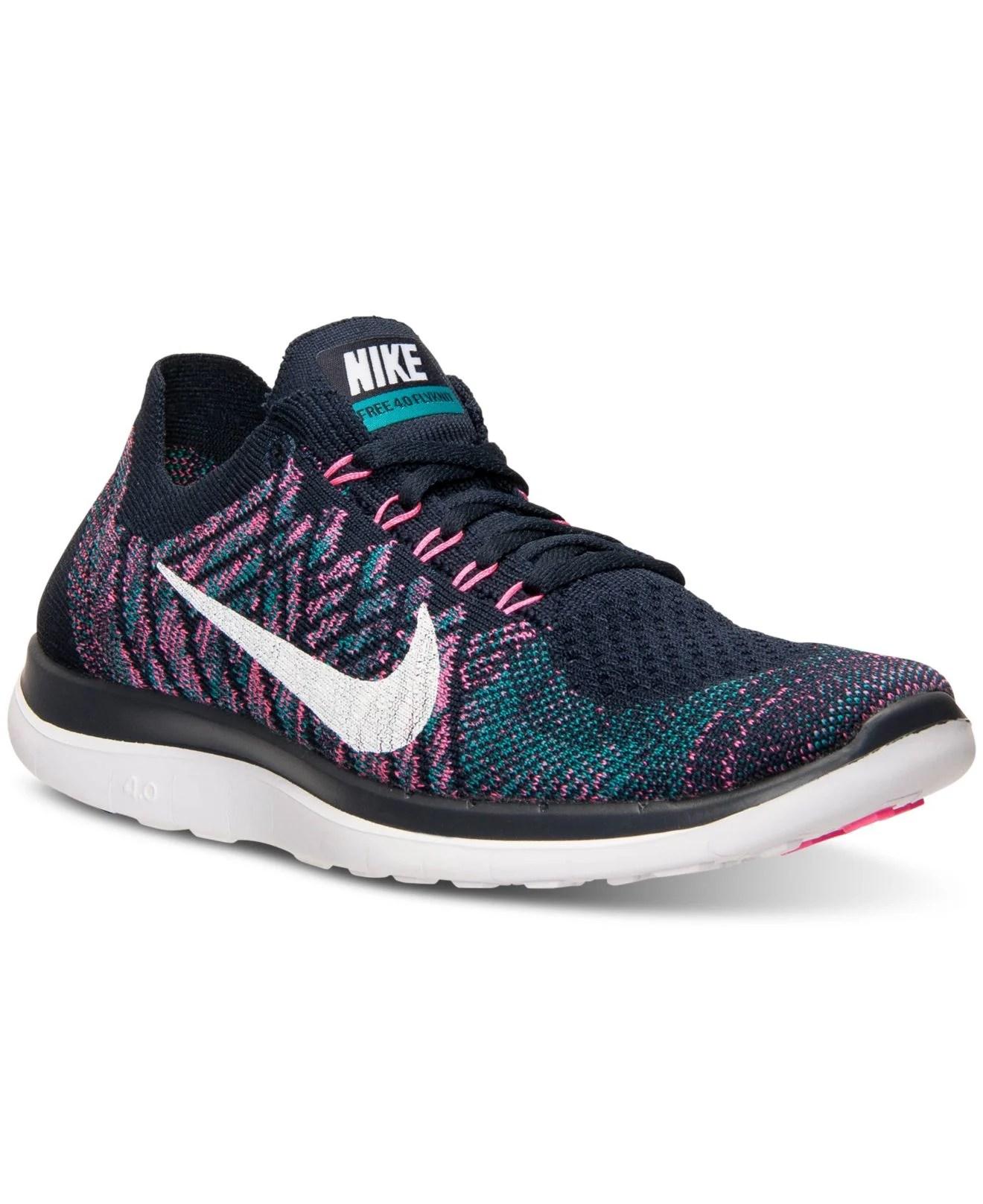 Lyst Nike Womens Free Flyknit 40 Running Sneakers From