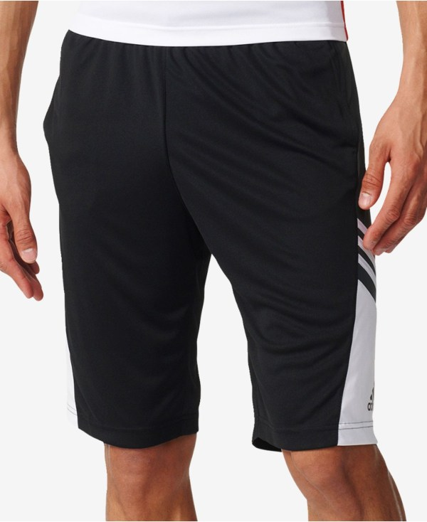 Adidas originals Men's Pregame Basketball Shorts in Black ...
