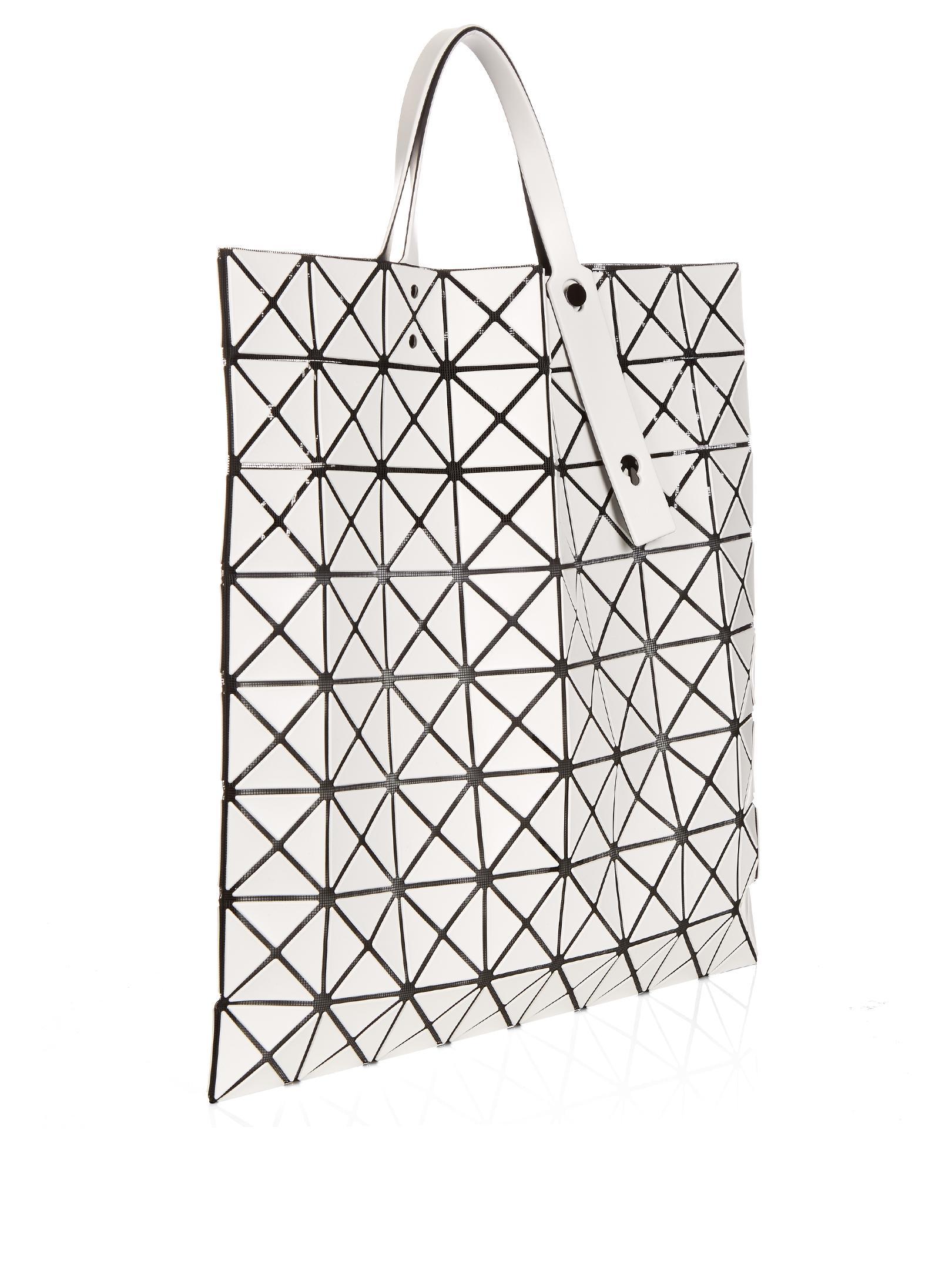 Bao Bao Issey Miyake Triangular Panels Tote In White For