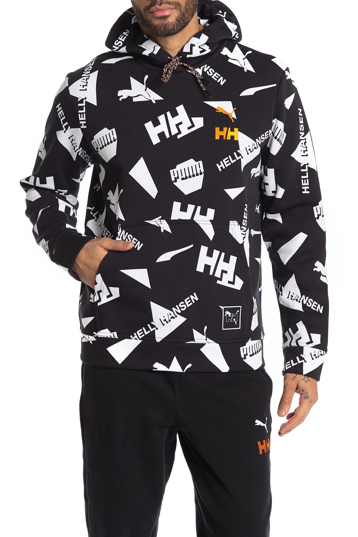 x helly hansen men s aop hoodie