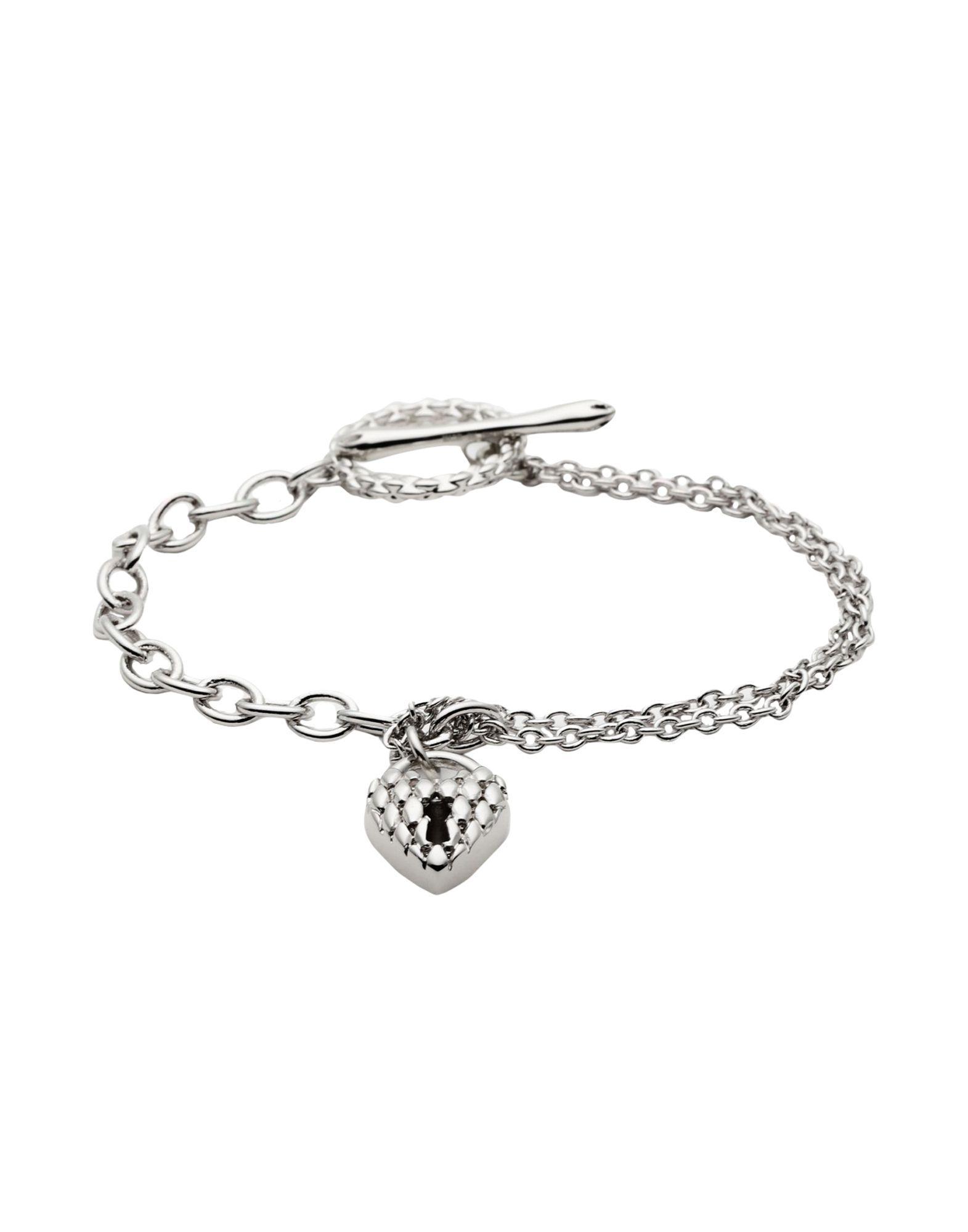 Just Cavalli Bracelet In Silver Metallic