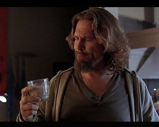 Dude savoring white russian 8 Celebrity Cocktails: Famous Cocktails in Film and TV