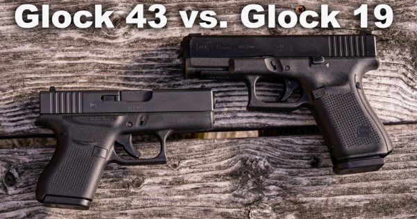 Glock 19 vs. Glock 43 - What Is the Difference ...