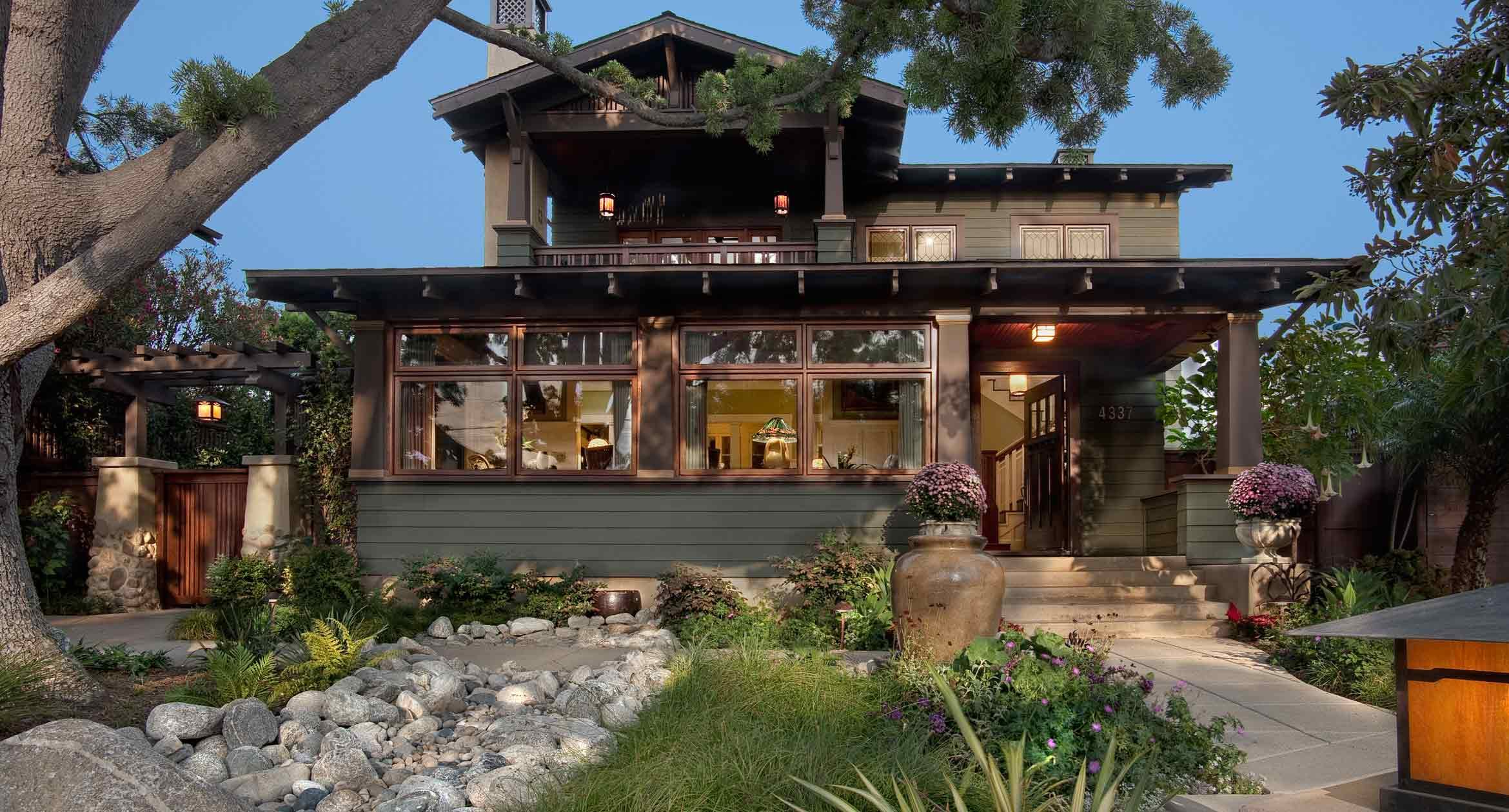 A Newly Rebuilt Craftsman With Old Style Patina Builder