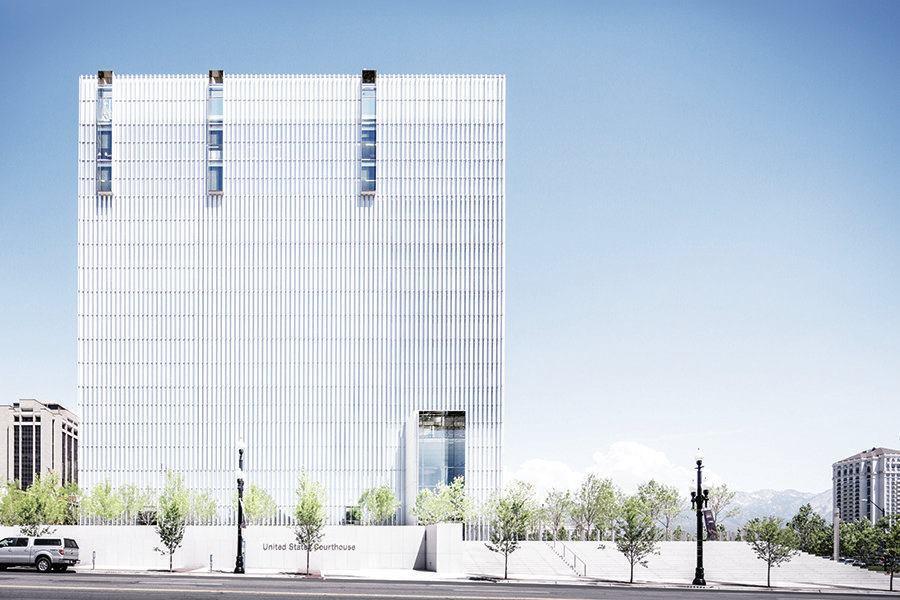 United States Courthouse Designed By Thomas Phifer And Partners Architect Magazine