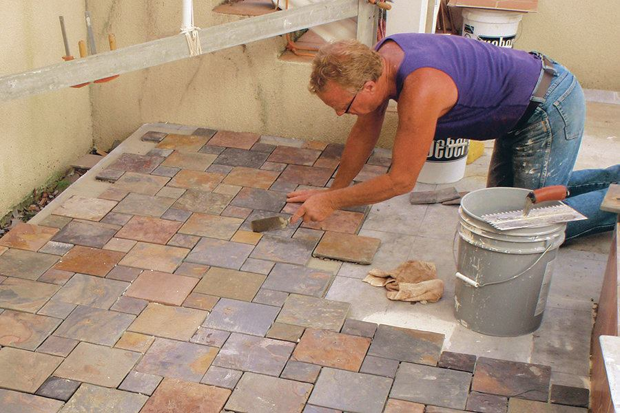 Prepping for Outdoor Patio Tile Installation   JLC Online   Tile     Prepping for Outdoor Patio Tile Installation   JLC Online   Tile  Flooring   Exteriors  Cracks  Detail  Floor Flatness and Levelness  Hardscape