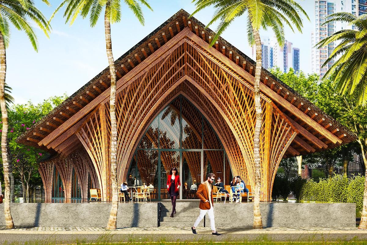 Ting Xi Bamboo Pavilion Architect Magazine Vo Trong