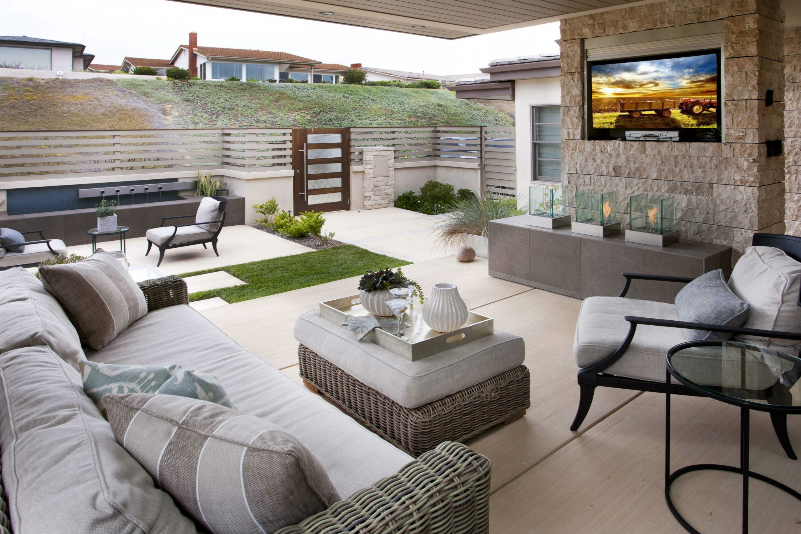 Backyard Spotlight: Sage Outdoor Designs| Pool & Spa News on Backyard Yard Design  id=74133