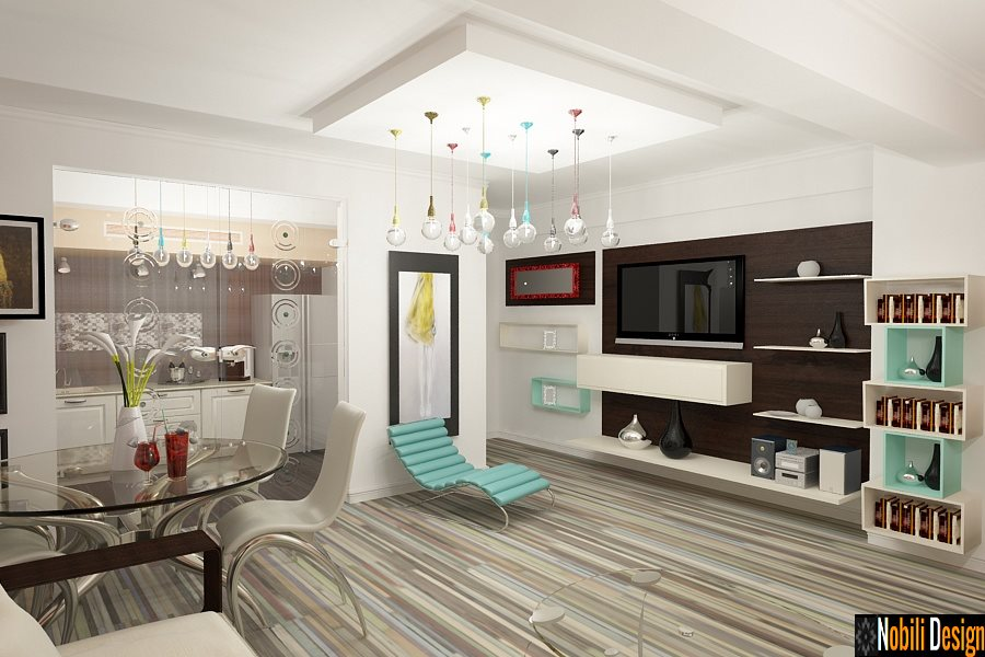Design Interior Apartament Modern Bucuresti Residential