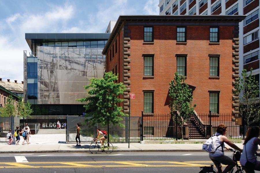 Brooklyn Navy Yard Center Building 92 Architect
