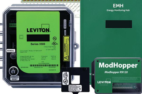 Verifeye Submetering Solutions Leviton Architectural