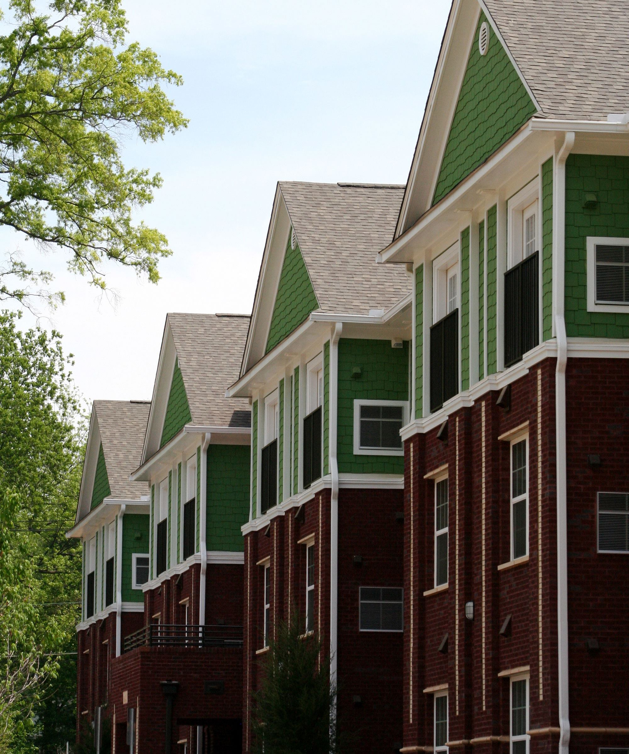Case Study North Carolinas First Green Multifamily