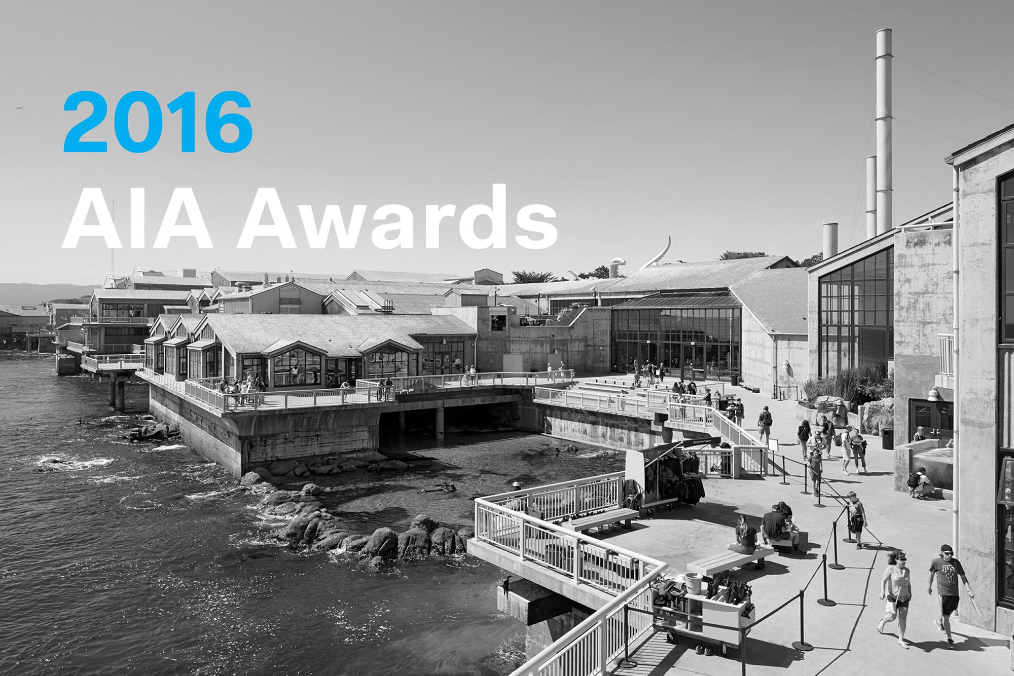 Twenty Five Year Award Monterey Bay Aquarium Architect