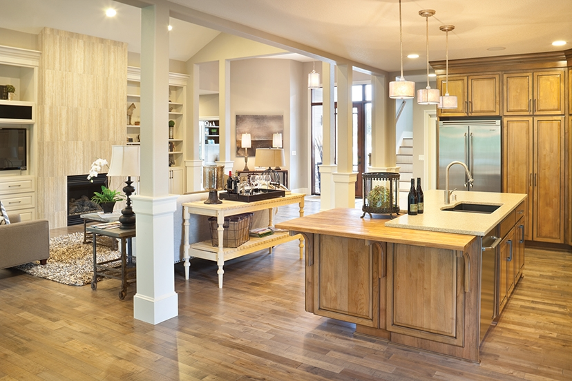 10 Floor Plans With Great Kitchens Builder Magazine | House Plans With Stairs In Kitchen | Luxury | Separate Kitchen | Compact Home | 2 Bedroom Townhome | Central Courtyard House