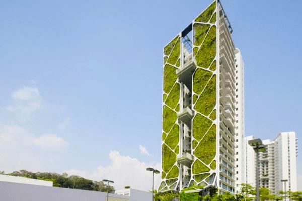 vertical garden skyscraper World's Largest Vertical Garden | EcoBuilding Pulse