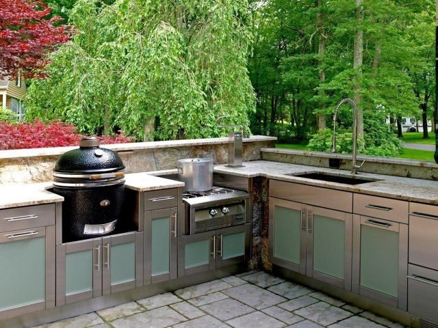 hot products for outdoor kitchens | builder magazine | outdoor rooms
