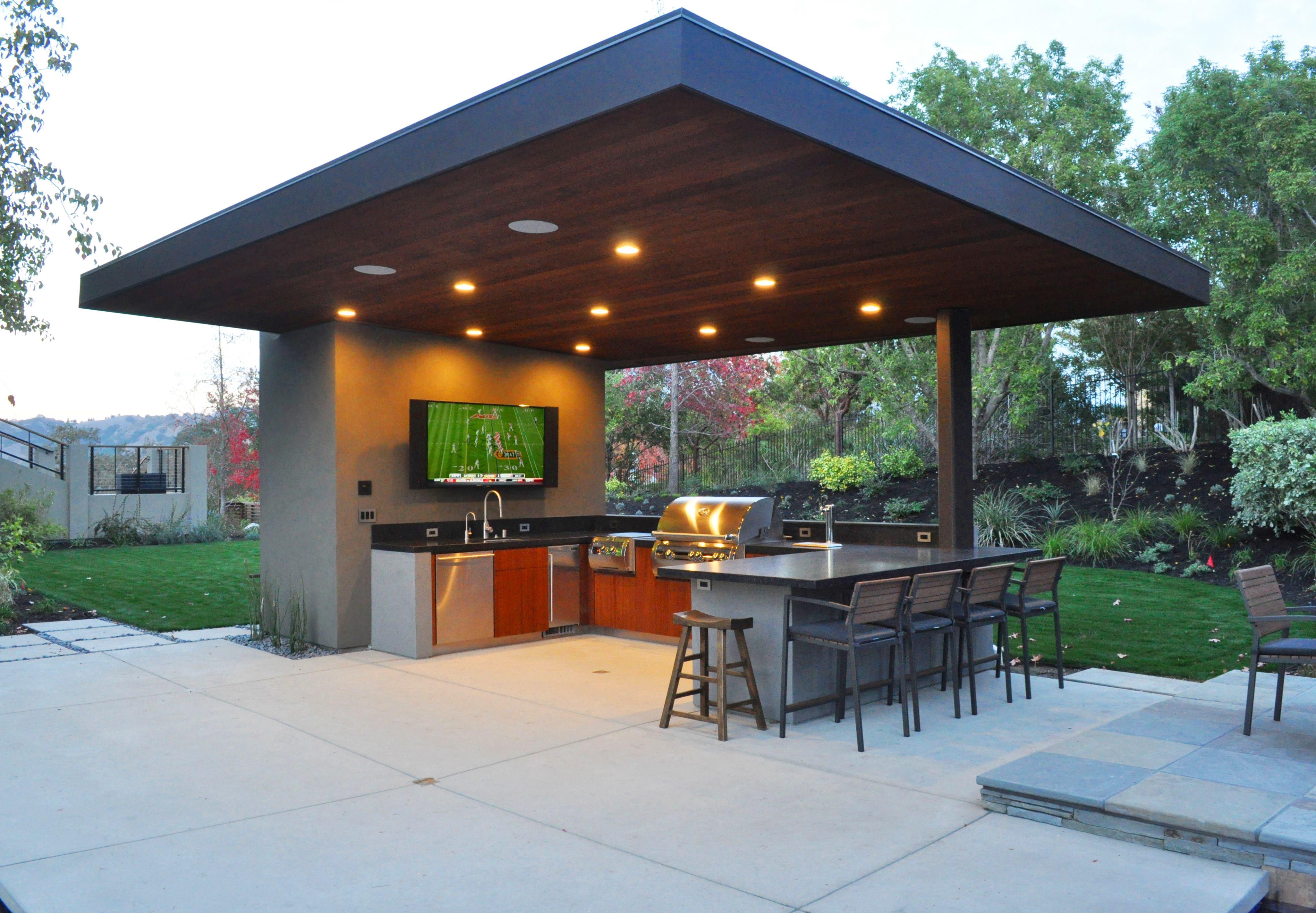 10 Outdoor Kitchen Designs We Love | Builder Magazine on Backyard Kitchen Design id=36453