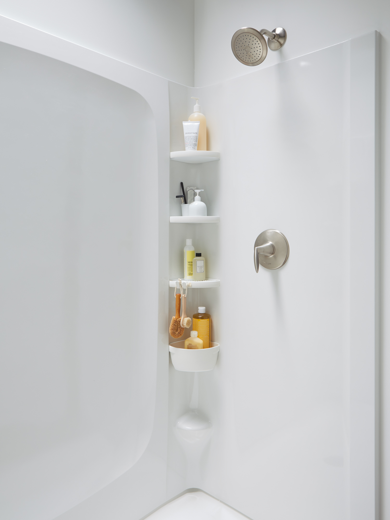 Store More In The Shower With Sterling S Store Jlc