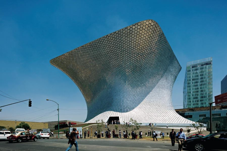 Museo Soumaya Plaza Carso Mexico City Architect Magazine