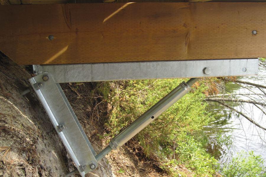 Dock On A Rock Brackets Professional Deck Builder
