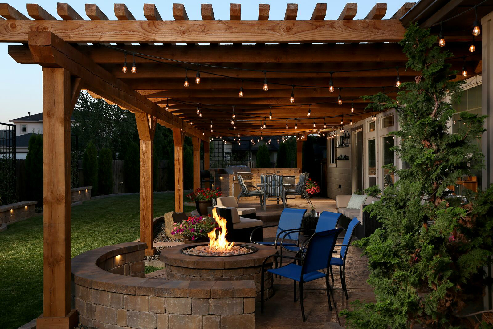Outdoor Living Space Has Everything But the Kitchen Sink ... on Garden And Outdoor Living id=49028