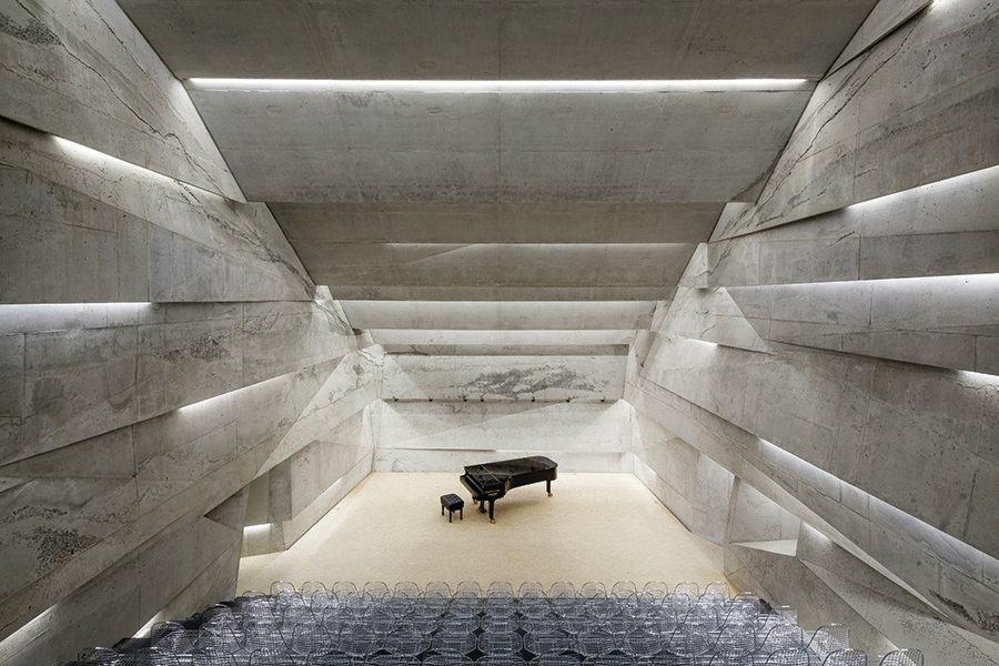 Konzerthaus Blaibach Designed By Peter Haimerl
