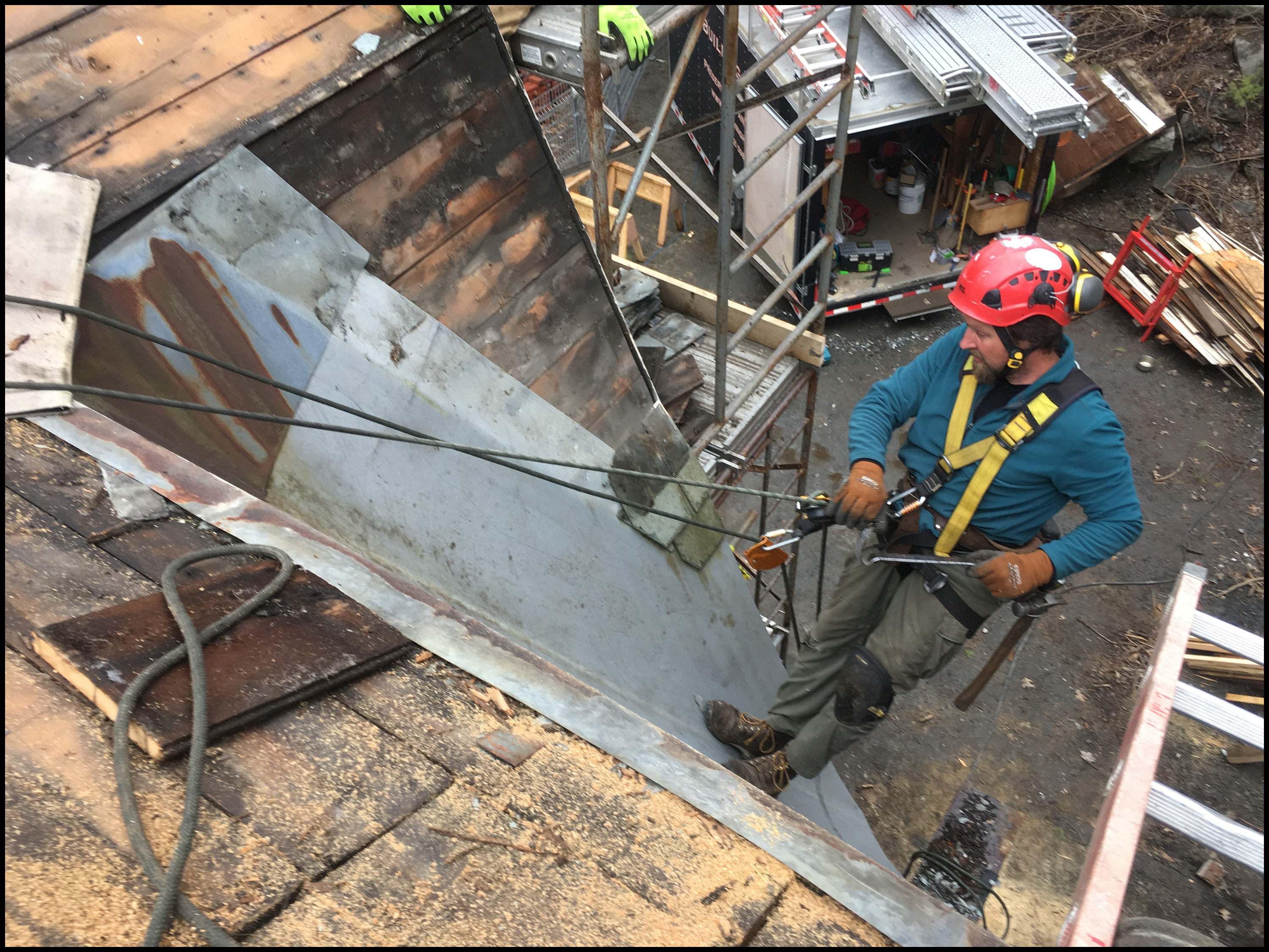 Working Safely And Comfortably At Heights