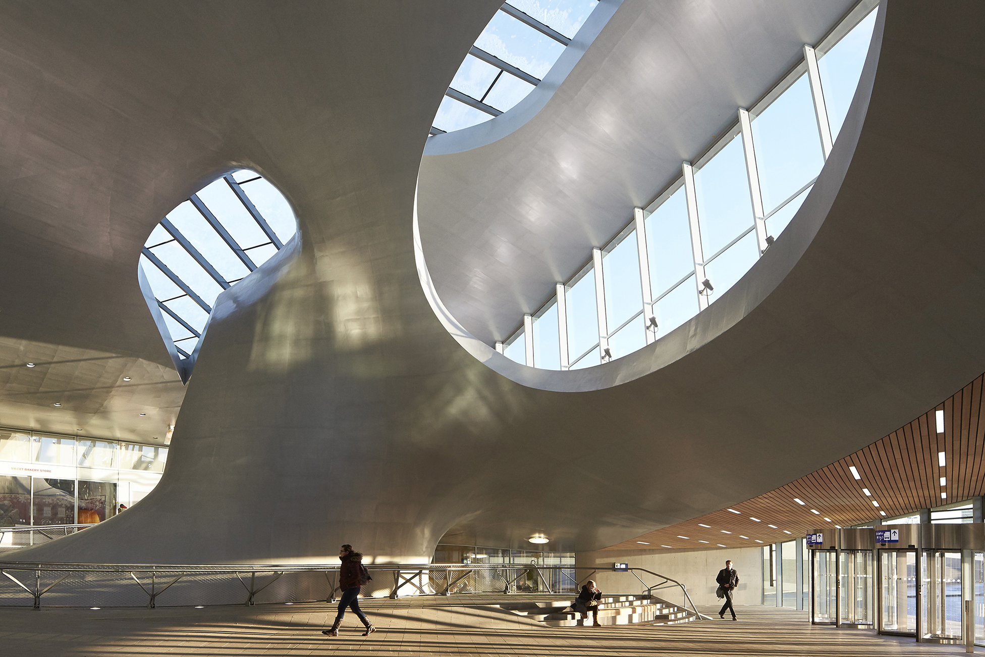 Arnhem Station Architect Magazine UNStudio Arnhem