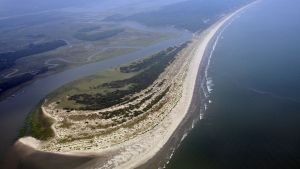 A Wedge In The Sand: Nature Intervenes In Construction