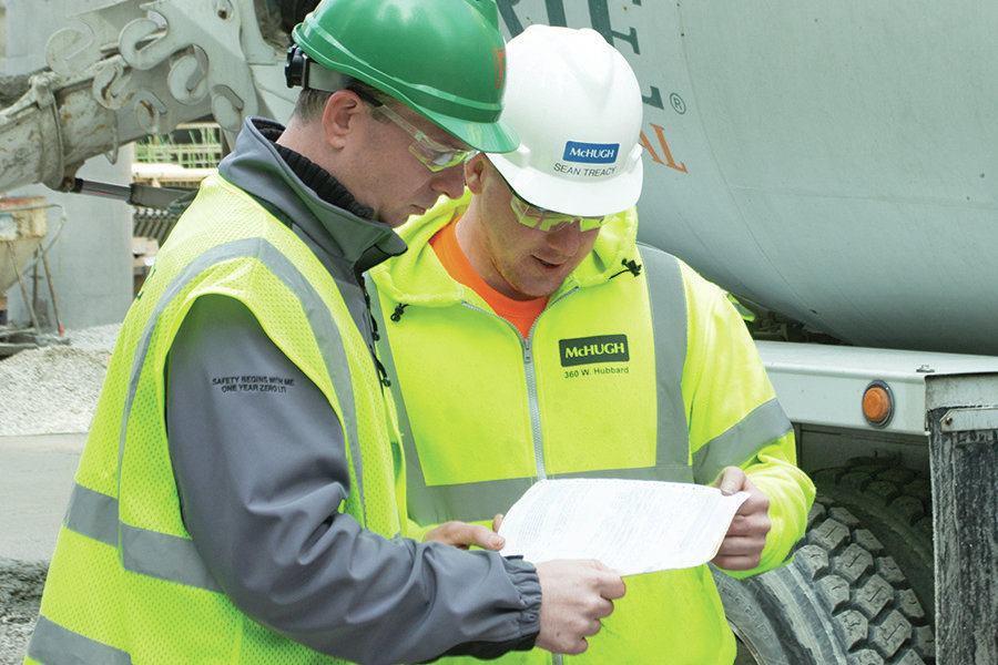 Batch Ticket Reveals Mix Design Concrete Construction