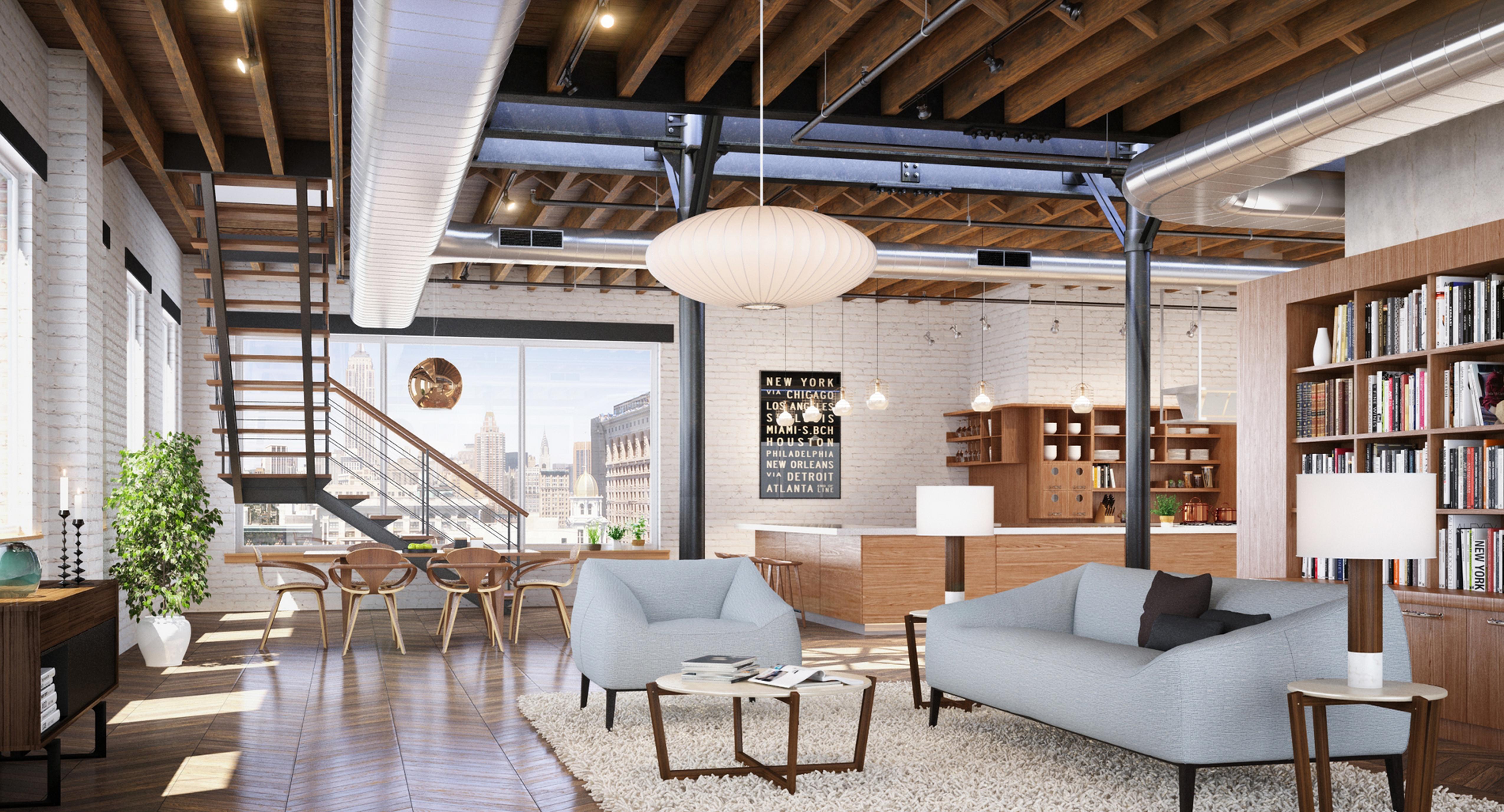 Loft Residence Architect Magazine DFORM New York