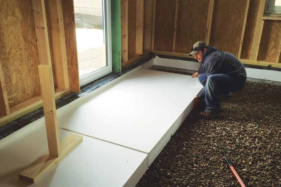 Detailing A Superinsulated Slab JLC Online Insulation